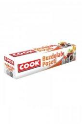 Cook Buzdolabı Poşeti Orta Boy 24 X 38 Cm 20...