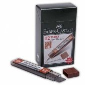 Faber Castell Super Fine Min Kalem Uçu Siyah 0.5 Mm 2b * 12 Adet