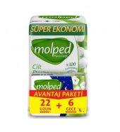 Molped Pure&soft Hijyenik Ped Uzun 22 Li + 6 Gece