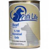 Pati Life Tahılsız Biftekli Konserve Köpek Maması 415 Gr
