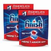Finish Hepsi Bir Arada 200 lü Tablet Deterjan (100x2)