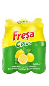 Freşa C Plus Limonlu Soda 200 Ml X 6 Adet