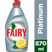Fairy Platinum Limon Sıvı Bulaşık Deterjanı 870...