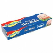 Superfresh Ton Balık Bütün Dilimli 3 X 80 Gr