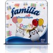 Familia Desenli Peçete 100 Adet