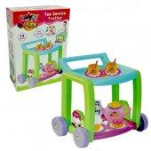 Candy Çay Servis Arabası Tekerlekli