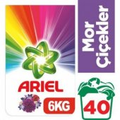 Ariel Çamaşır Yıkama Deterjanı Mor Çiçekler 6...