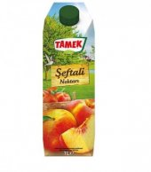 Tamek Meyve Suyu Şeftali Nektarı 1 Lt