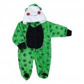 Kız Erkek Bebek Kurbağa Modelli Versoft Tulum 3 12 Ay Yeşil C74074 3