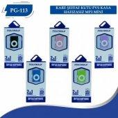 Polygold Pg 113 2 İn 1 Renkli Mini Mp3 Çalar + Kulaklık