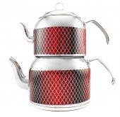 Remetta Tappeto Plus Aşiret Boy Çaydanlık Kırmızı