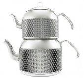 Remetta Tappeto Plus Aşiret Boy Çaydanlık Gri
