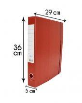 5 Cm Arşiv Ve Proje Kutusu Arşiv Klasörü Kırmızı 10 Adet