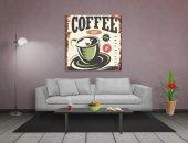 Coffee Vintage Reklam Afişi Tablosu-2