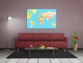 Dünya Haritası Tablosu-2