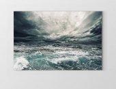 Fırtınalı Deniz Tablosu
