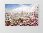 Eiffel Kulesi Ve Çiçekler Tablosu