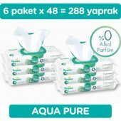 Prima Islak Havlu Mendil Aqua Pure Tekli Paket...