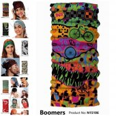 Narr Buff Bandana Boomers -Çok Fonksiyonlu-2