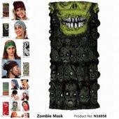 Narr Buff Bandana Zombie Mask  -Çok Fonksiyonlu-2