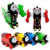 Thomas Robota Dönüşen Çek Bırak Oyuncak Tren