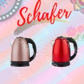 Schafer Oskar Elektrikli Su Isıtıcısı Kettle 3...