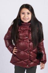 Milan Çocuk Club 25 Yaş Kız Çocuk Mont Kaban Bordo Renk