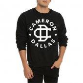 Cameron Dallas Unisex Uzun Kol Sweatshirt