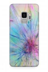Samsung Galaxy S9 Kılıf Silikon Arka Kapak Koruyucu Sonsuz Kavram