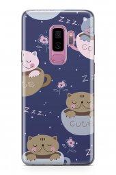 Samsung Galaxy S9 Plus Kılıf Silikon Arka Kapak Koruyucu Cute Ked