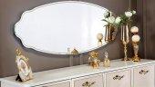 Mondi Lorenz Gümüşlük Konsol Büfe Aynası Dekoratif Aynalar