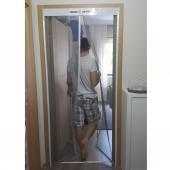Mıknatıslı Otomatik Kapı Sinekliği Fiberglass Yanmaz Sineklik Tül 90x210 cm-2