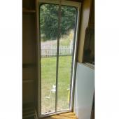 Mıknatıslı Otomatik Kapı Sinekliği Fiberglass Yanmaz Sineklik Tül 90x210 cm-3
