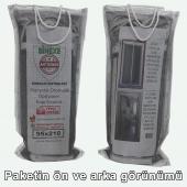Mıknatıslı Otomatik Kapı Sinekliği Fiberglass Yanmaz Sineklik Tül 90x210 cm-4