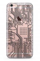 Apple İphone 6 6s Kılıf Silikon Arka Kapak Koruyucu Elektronik Bo