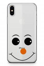 Apple İphone Xs Max Kılıf Silikon Arka Kapak Koruyucu Kırmızı Bur