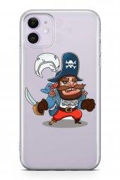 Apple İphone 11 Kılıf Silikon Arka Kapak Koruyucu Mr. Viking Dese