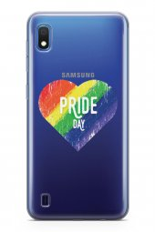 Samsung Galaxy A10 Kılıf Silikon Arka Kapak Koruyucu Pride Day Lg