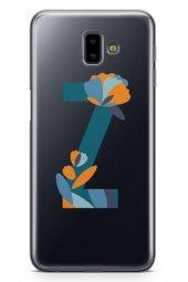 Samsung Galaxy J6 Plus Kılıf Silikon Arka Kapak Koruyucu Z Harfi