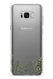 Samsung Galaxy S8 Plus Kılıf Silikon Arka Kapak Koruyucu Dallar Y