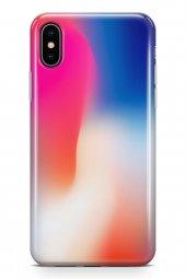 Apple İphone Xs Max Kılıf Silikon Arka Kapak Koruyucu Renk Sarmal
