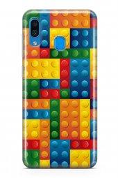 Samsung Galaxy A20 Kılıf Silikon Arka Kapak Koruyucu Lego Dünyası