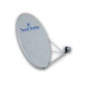 Next 120 Cm Üç Kollu 0.6 Mm Ofset Çanak Anten