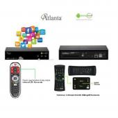 Atlanta Smart Box G4 Cı Modüllü Android Uydu Alıcısı-3