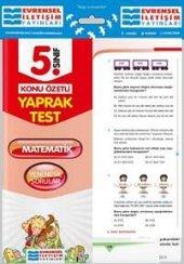Evrensel İletişim 5.sınıf Matematik Yaprak Test