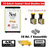 Next 10 32 Sonlu Santral+2 Ad. Qattro Lnb+30 Ad. F Konnektör