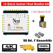 Next 10 16 Sonlu Santral+1 Ad. Qattro Lnb+20 Ad. F Konnektör