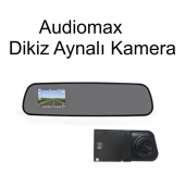 Audiomax Mx 703r Dikiz Aynalı Araç Yol Kayıt Kamerası