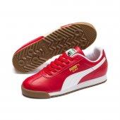 Puma Roma Basic 353572 96 Erkek Kırmızı-Beyaz Spor Ayakkabı -2