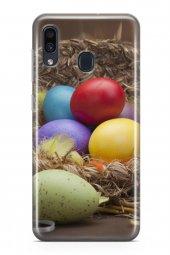 Samsung Galaxy A40 Kılıf Silikon Arka Kapak Koruyucu Paskalya Yum